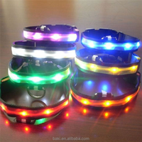 Hot Quality Led Collars for Dog Flashlight Led Dog Collar Usb Rechargeable