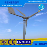 10kw off grid solar power system wind turbines kit for sale