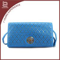2016 popular luxuriant in design deft design excellent Blue PU womens purses discount
