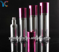 New Acrylic Cosmetic Plastic Food Grade Spray Bottle