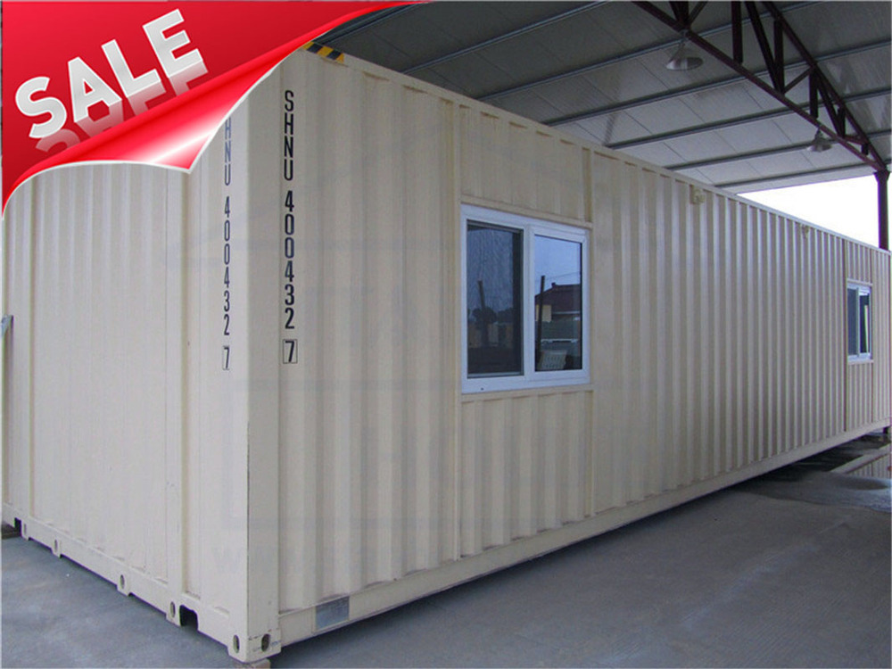 Beautiful modified shipping container for dormitory