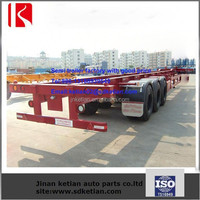 40ft Container Chassis Flatbed Container Trailer