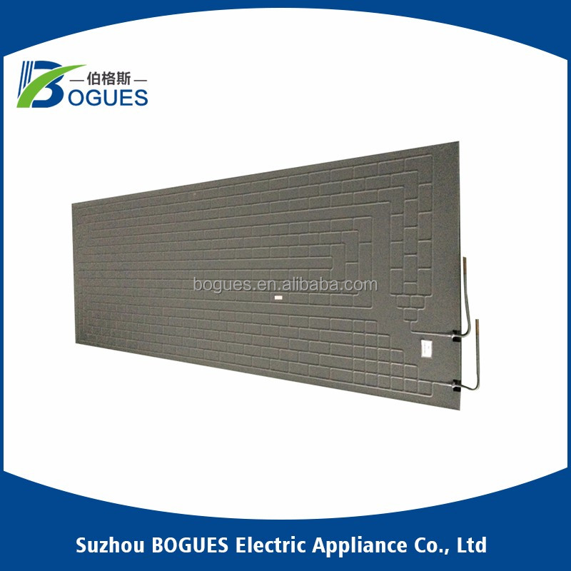 Solar water heater roll bond panel