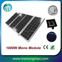 36v 1kw solar panel 1000 watt solar panel price