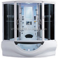 Hawks Steam shower combination whirlpool with TV
