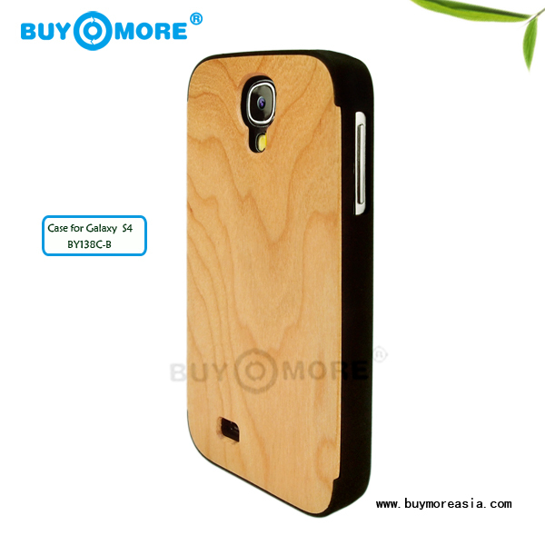 boost stylish wooden mobile phone cases Hot Slide Pure wood case for samsung s4 Bamboo cover for samsung s4