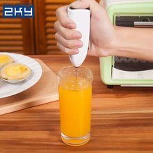 Creative Cooking Tool Drink Milk Froth Foam Whisk Mixer Stirrer Egg Beater Electric Mini Handle Stirrer