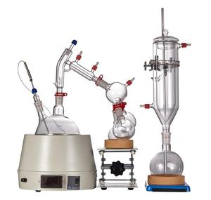Chemical lab 2l 5L 10 L short path distillation cbd for processing