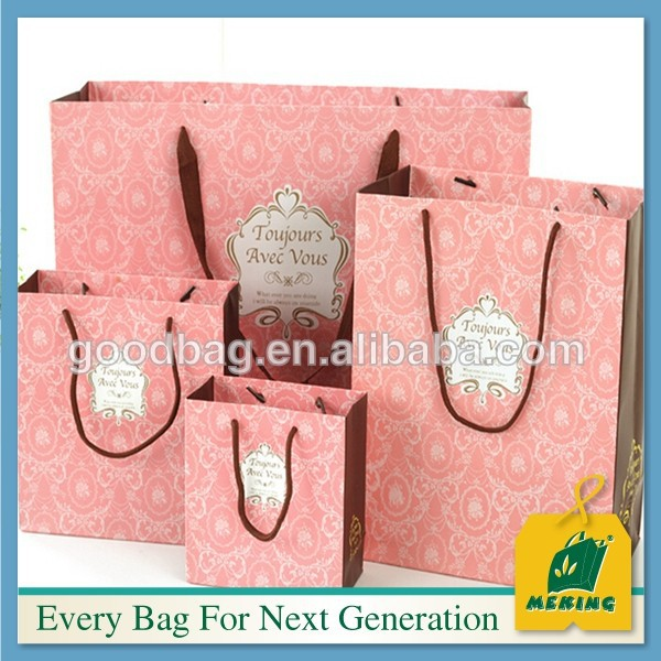 2014 newest cheap recycle brown paper bags ELE-CN0948 Christmas new product