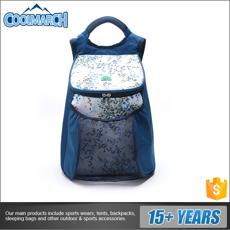 Customized priting wholesale outdoor collapsible camping picnic shopping insulated cooler bag