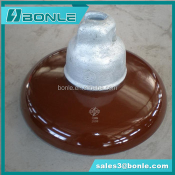 ANSI 52-3 suspension or U70BL disc porcelain insulator