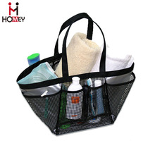 2015 New Large PVC Mesh Handbag Women Large Tote Hollow-out Shoulder Bag Summer Hot Beach Bag Cosmetic Travel Bag