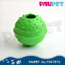 Cheap price hot factory directly glow in dark pet ball toys