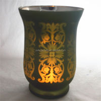Multi-Language Sites See larger image Colored Flower Patterns Mosaic Candlestick Hurricane Glass Candle Holders Accessories
