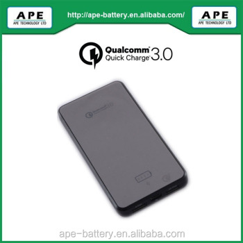 Qualcomm Quick charge 3.0 certificated power bank 8000mAh