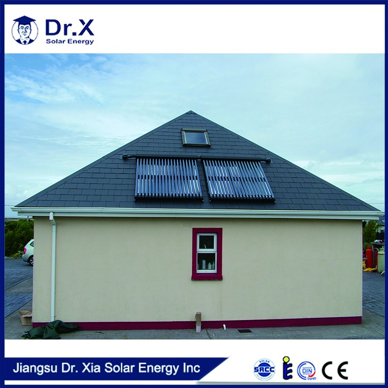 Cheap home solar power system, heat pipe solar water heater