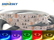 China manufactury SMD3528 RGB DC12V 60 LEDs/m led strip for decoration lighting