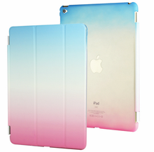 Rainbow Smart cover+PC case set for iPad mini 4