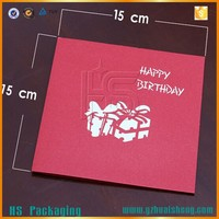 3D handmade birthday greeting card special designs