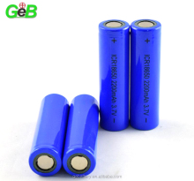 3.7V 2200mAh 18650 Li-Ion Battery with Tabs