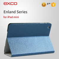 EXCO New model fashion shockproof & Drop resistance leather cover for iPad mini