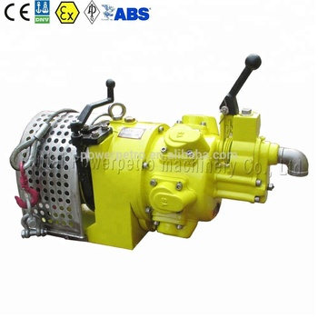 Air Winch for Offshore Application