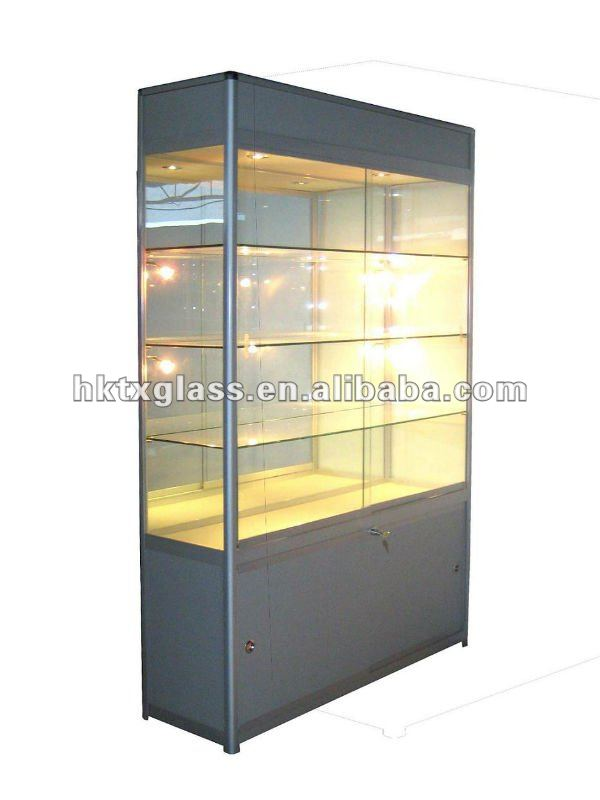 Glass display case / Glass show case / en12150