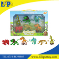 Beautiful mini cartoon animal toys 6 asst non-toxic for children