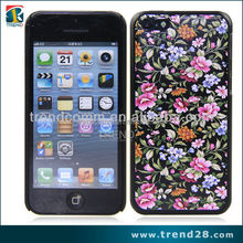 phone accessory color printing design pc case for iphone5c