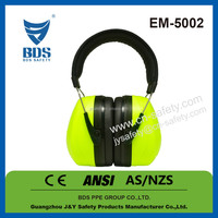 Cheap wholesale ANSI certificate noise reduce shooting safety earmuff
