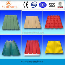 Metal roofing materials Galvanized sheet metal roofing price Corrugated galvanized zinc roof sheets from manufacturer