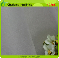 Adhesive,Water Soluble Interlining and Nonwoven Technics fusing interlining fabric