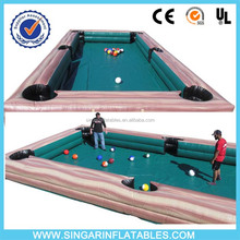 2016 Excellent Game snooker soccer ball snookball billiard football inflatable