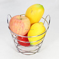 57-7C Home and Kitchen Small size Metal Wire Fruit Basket,Storage Basket holder rack