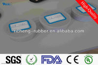 sticky silicone sponge rubber sheet