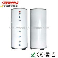 Galvanized steel pressurized solar water tank ( Ranging from 80liters to 4000liters )