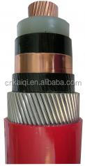 up to 35kV copper core xlpe insulated single core shielding cable, shielded cable