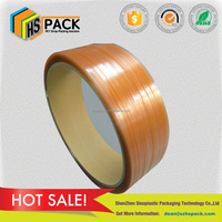 hot sale pet material and manual packing application high tensile pet strap plastic packing strap roll