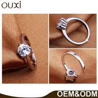 OUXI Fashion Jewelry Ring Set 18K