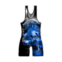High quality china cheap wrestling singlets for men