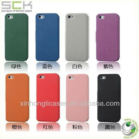 hot selling leather case for iphone 5 heat dissipation case