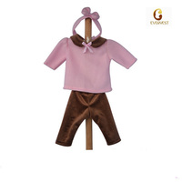 comfortable 20 inch doll clothes patterns/hot selling cute 18 inch vinyl doll outfits/blythe doll clothes for little girl doll