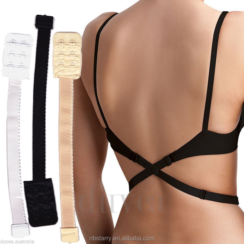 Magic Bra Strap Low Back Bra Converter Strap As Seen On TV V Conversion Solution Extender
