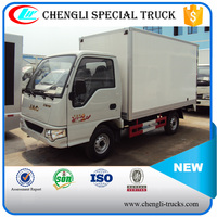 JAC 100hp 4*2 6wheels 3000kg Closed Light Delivery Van Truck