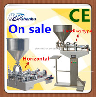 pneumatic paste filling machine/peanut butter packing machine