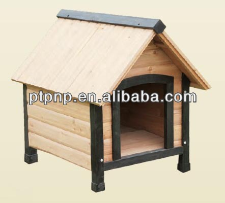 Cheap Outdoor wpc dog house non-toxic dog kennel