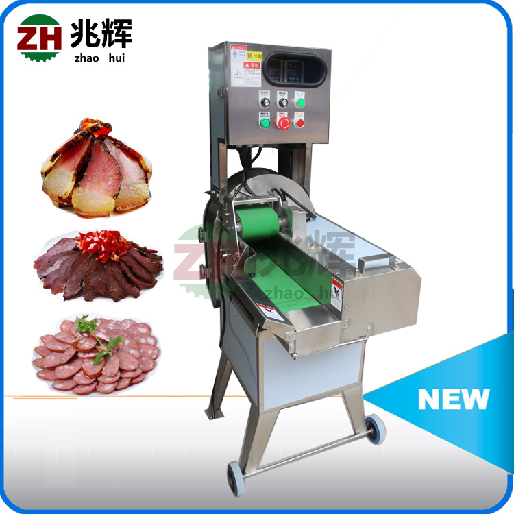 Automatic Electric Meat Slicer Commercial bacon and sausage slice cutting machine