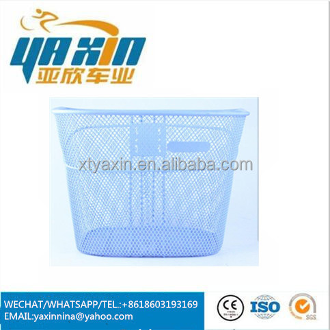steel wire front bicycle basket