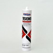 1596 General Purpose high temperature 300degree red RTV Silicone Sealant Gasket silicone maker
