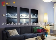 cloud with clear sea scenery acrylic scenery paintings